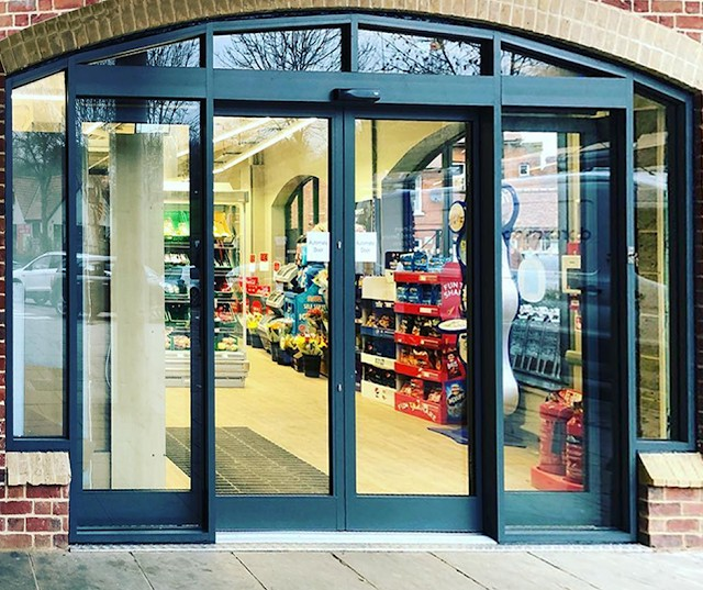 What are Shop Front Fitters?